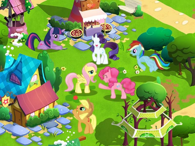 My Little Pony Goes Mobile