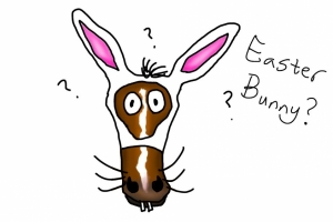 Top Ten Similarities Between Your Horse and the Easter Bunny