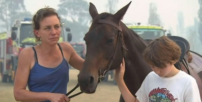 Rejected Show Horse Saves Owner from Fire in Australia